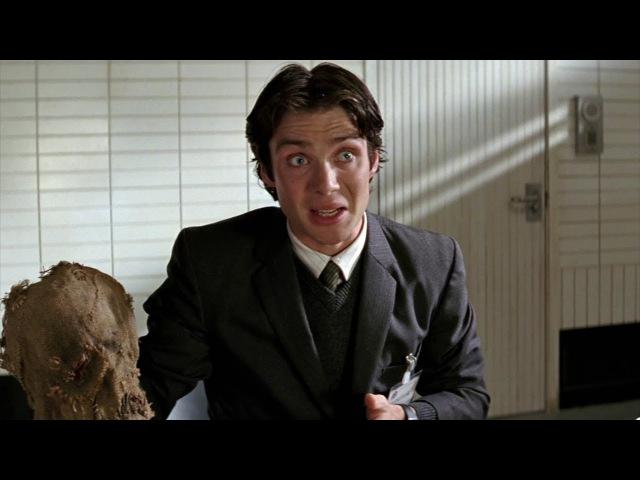 Пугало запугивает главу мафии Фальконе Бэтмен Начало 2005