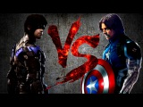 НАЙТВИНГ против БАКИ-КЭПА | NIGHTWING vs BUCKY-CAP [CT Fight Club | DC | Marvel]