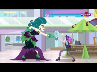 HDMulti.net Мой маленький пони Девушки из Эквестрии 3 эпизод - Магия зеркала (Русские субтитры)