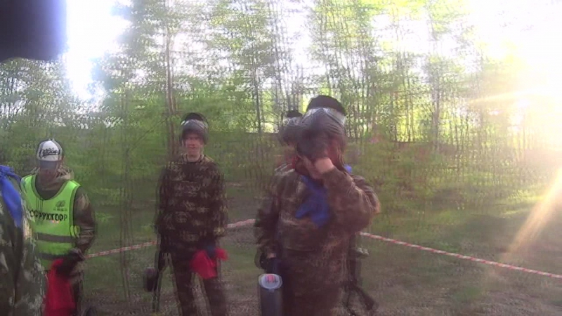 Paintball: ССО Витязь VS СПО Дружина 21.05.17.