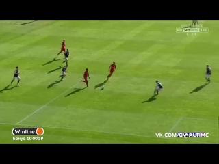 Шотландия - Англия 0:1. Алекс Окслейд-Чемберлен