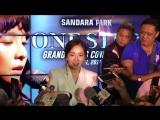 [EVENT] 170506 Сандара рассказывает о корейском фильме 'One Step' на пресс-конференции в Маниле (Филиппины)