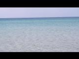 прозрачная вода на Тарханкуте (Крым)