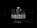 Marvels Cloak and Dagger Official Trailer  Плащ и Кинжал