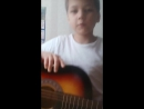 На гитаре играю и играю с кошкой!.!