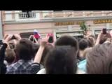 12 июня. Пушкинская пл., Москва