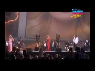 Александр Ревва, Жанна Фриске, Полина Гагарина - Бриллианты (Премия МУЗ-ТВ 2012)
