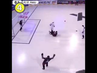 Вот что будет, если соединить футбол с хоккеем