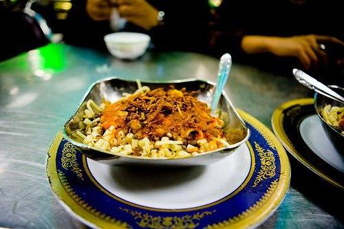 Кошари по египетски рецепт