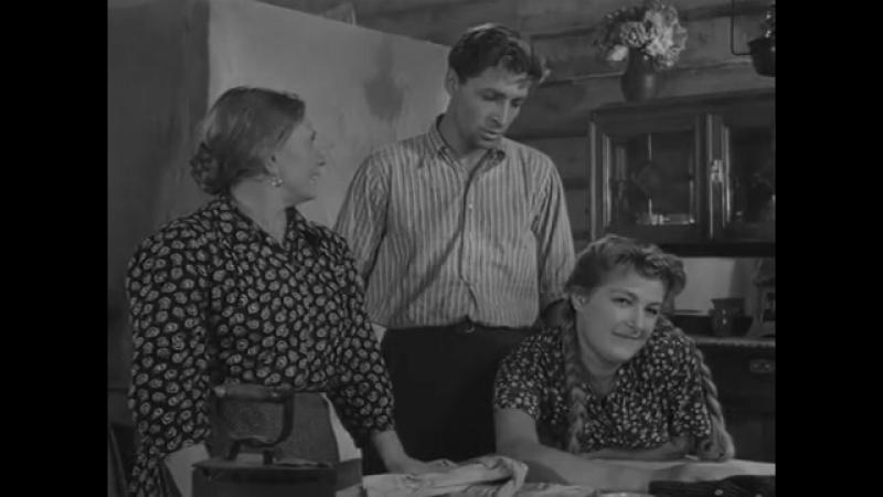Дело было в Пенькове - в главной роли В. Тихонов (1957)
