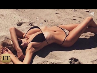 Charlotte McKinney Puts Her Jaw-Dropping Body on Full Display in Sexy String Bikini