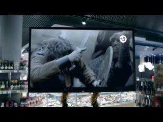 """Весёлая реклама сериала """"Викинги"""" на канале ТВ-3."""