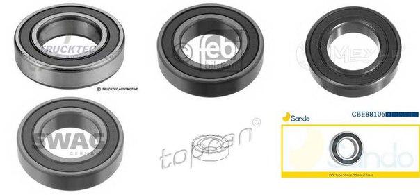 Подшипник, промежуточный подшипник карданного вала для BMW 7 (F01, F02, F03, F04)