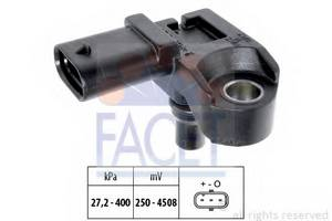 Датчик, давление во впускном газопроводе для BMW X1 (E84)
