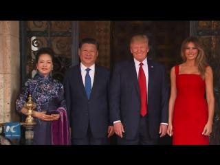 Встреча председателя КНРСиЦзиньпинаи президента США Дональда Трампав поместье Мар-а-Лаго