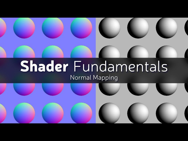 Shader Fundamentals - Normal Mapping