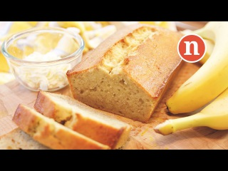 Banana Cake | Banana Bread (Healthy - Less sugar, less butter)