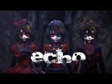 Happy Halloween MMD Echo - Gothic Miku &amp Rin &amp Len