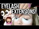 Getting Eyelash Extensions!