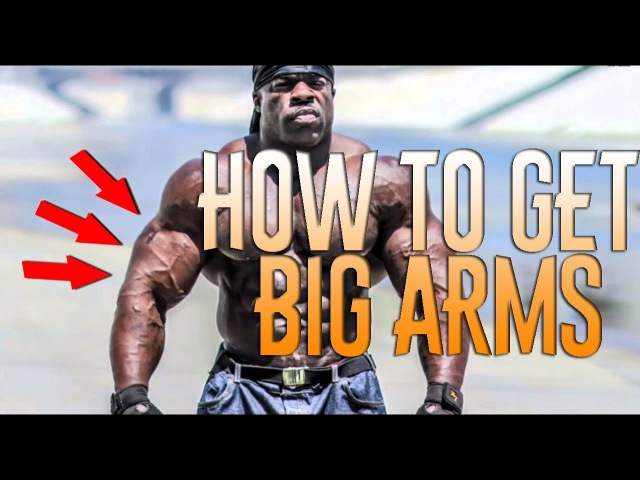 How to get big arms. Training with Mac Trucc. Lightweight training. Workout video 2017