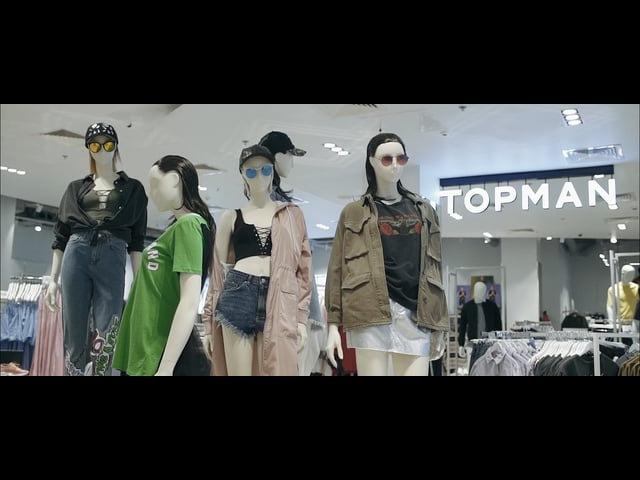 TOPSHOP TOPMAN | ОТКРЫТИЕ В ТРЦ ЕВРОПЕЙСКИЙ