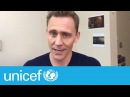 Tom Hiddleston partage son activité préférée à l'école   UNICEF