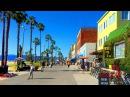 Walking from Venice Beach to Santa Monica Pier in Los Angeles, California 【4K】
