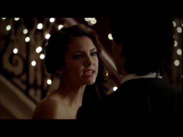 The Vampire Diaries (Дневники вампира). Delena - высокое напряжение