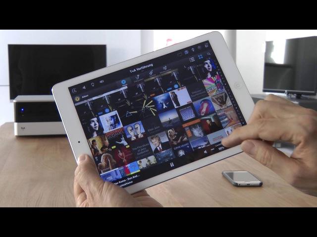 Smart Home Steuerung per App - mit TA K8 komfortabel Musikhören - von Klang Bild Thomas Wild