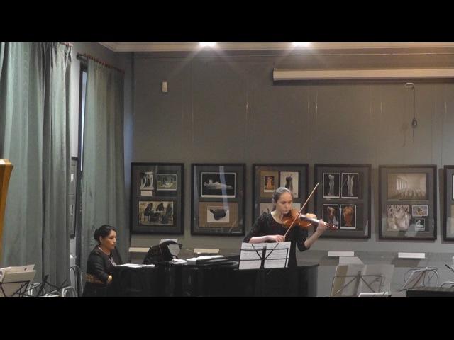 Сельби Ниязова (г. Ашхабад, Туркменистан) - Твой мир для скрипки и фортепиано