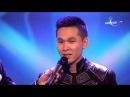 Shijirbat computer animation dance performance on Mongolia's Got Talent 2016