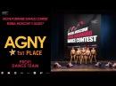 AGNY 1st PLACE PROFI DANCE TEAM MOVE FORWARD DANCE CONTEST 2017 OFFICIAL VIDEO
