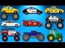 Большой сборник 30 минут Развивающие мультики про машинки для детей