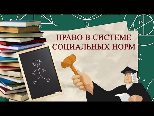 5.1 Право в системе социальных норм 📚 ЕГЭ по ОБЩЕСТВОЗНАНИЮ