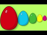 Learn colors Surprise eggs Cartoons for children Video for kids minions