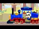 Поезд Доктора Панды РАЗВИВАЮЩАЯ АНИМАЦИЯ ДЛЯ ДЕТЕЙ. Dr Panda Train