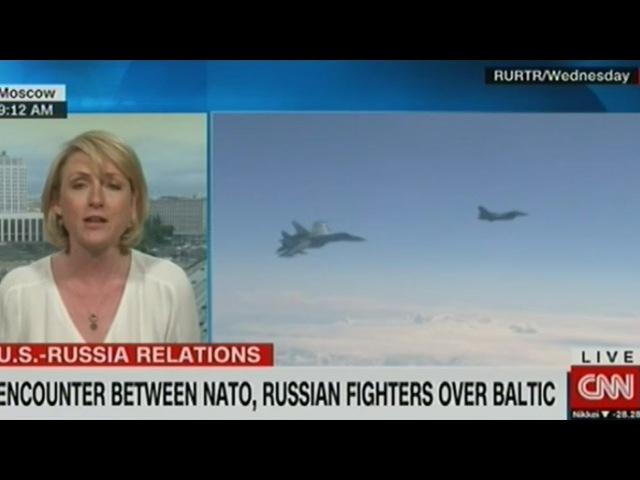 Пилоты НАТО не понимали на кого устроили воздушную охоту CHN
