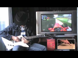 F1 Guitar Alonso India 2011