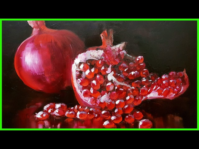 Уроки по живописи маслом Гранат МК79818457723