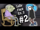 Sally Face  OLD WOMAN  Sally Face Episode 2  Part 2  Indie horror game Sally Face
