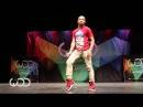 Парень нереально круто танцует. Fik-Shun World of dance Las Vegas 2014