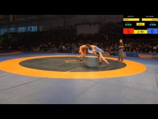 Первенство России_финал 96 кг_Мусаев-Цакулов
