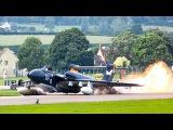 Dramatic video of last ever Sea Vixen crash landing in flames