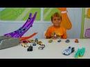 #Машинки ХОТ ВИЛС 🚗 Гонки, Мертвая петля, Машинки меняют цвет! Видео для детей Hot ...