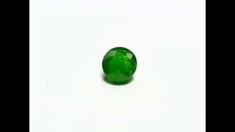 PREMIUM GREEN RUSSIAN DEMANTOID 1,76 карата 6,50х4,80мм НЕ гретый Коркодин, Челябинская область