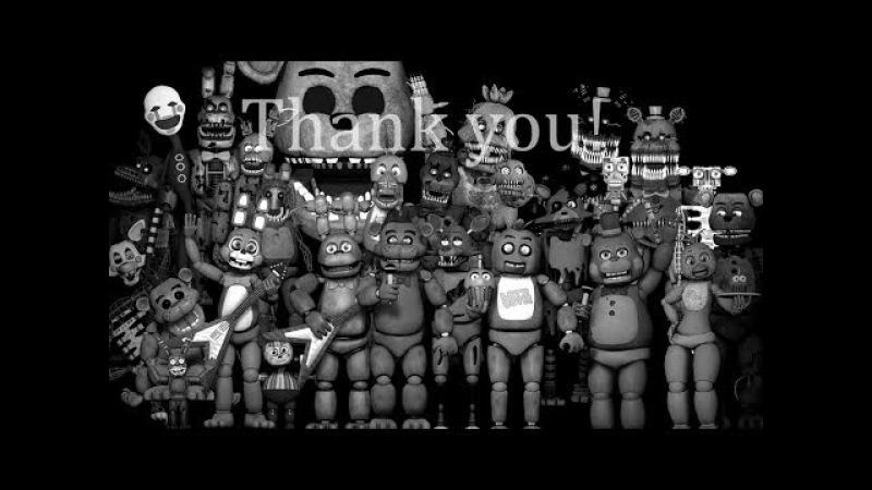 Голоса всех аниматроников из фнаф 1- 5 под акапеллу фнаф