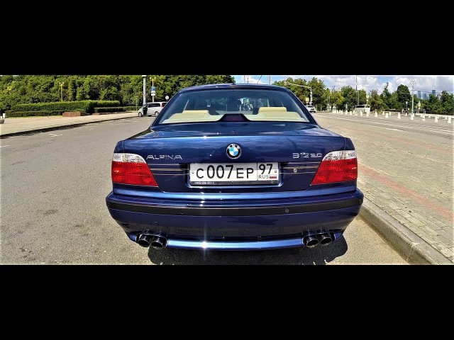 ALPINA B12 №30 BMW E38 760 Таких больше нетУ