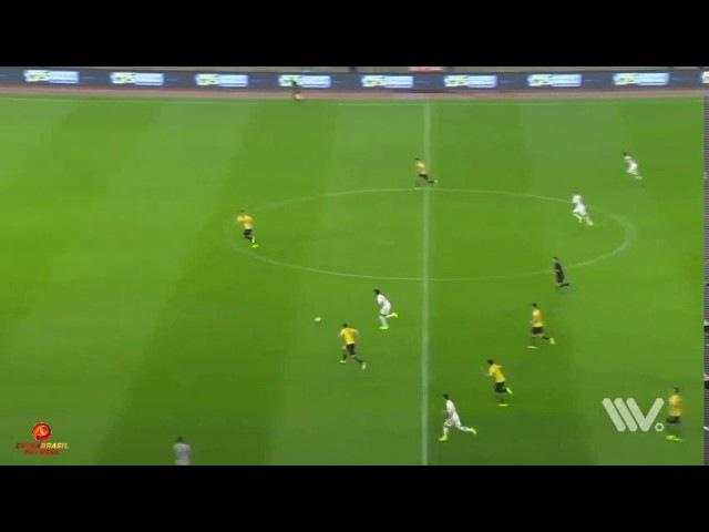 Gol Alexandre Pato - Tianjin Quanjian x Guangzhou Evergrande - 15a rodada da Super Liga da China