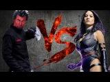АЗАЗЕЛЬ против ПСАЙЛОК  AZAZEL vs PSYLOCKE CT Fight Club  Marvel
