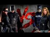БЭТС и КОШКА против КЭПА и ШЭРОН | BAT & CAT vs CAP & AGENT 13 [CT Fight Club | DC | Marvel]